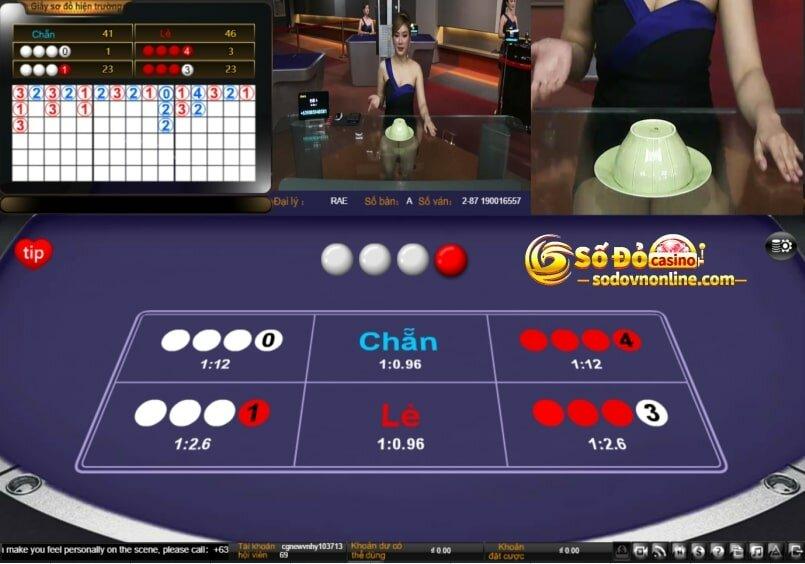 chơi xóc đĩa online ăn tiền thật tại số đỏ casino